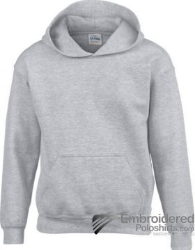 Gildan Gildan Childrens Hooded Sweatshirt-pantone CG7C Sport Grey