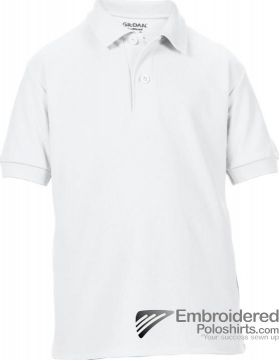 Gildan Gildan DryBlend Youth Sport Shirt-pantone 000C White