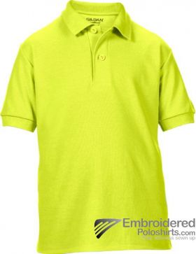 Gildan Gildan DryBlend Youth Sport Shirt-pantone 382C Safety Green
