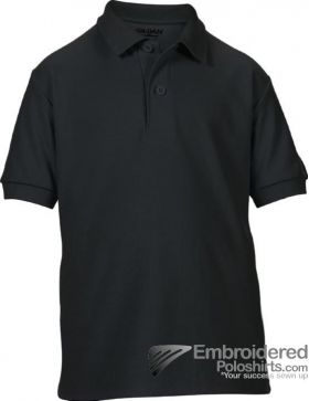 Gildan Gildan DryBlend Youth Sport Shirt-pantone 426C Black