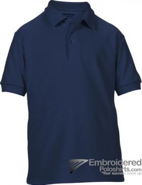Gildan Gildan DryBlend Youth Sport Shirt-pantone 533C Navy