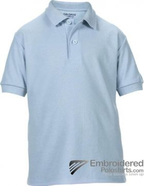Gildan Gildan DryBlend Youth Sport Shirt-pantone 536C Light Blue
