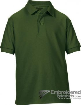 Gildan Gildan DryBlend Youth Sport Shirt-pantone 5535C Forest Green
