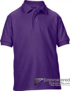 Gildan Gildan DryBlend Youth Sport Shirt-pantone 669C Purple