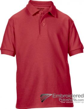 Gildan Gildan DryBlend Youth Sport Shirt-pantone 7620C Red