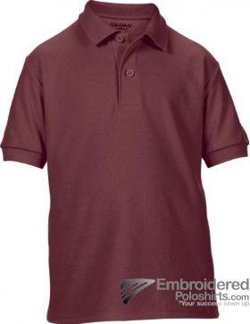 Gildan Gildan DryBlend Youth Sport Shirt-pantone 7644C Maroon