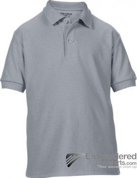 Gildan Gildan DryBlend Youth Sport Shirt-pantone CG10C Charcoal