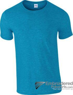 Gildan Gildan Mens Softstyle S/Sleeve T-Shirt-pantone 7706C Antique Sapphire