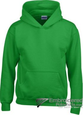 Gildan Gildan Childrens Hooded Sweatshirt-pantone 340C Irish Green