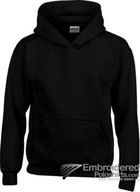Gildan Gildan Childrens Hooded Sweatshirt-pantone 426C Black
