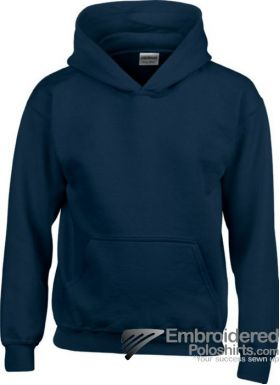 Gildan Gildan Childrens Hooded Sweatshirt-pantone 533C Navy