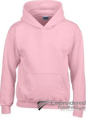 Gildan Gildan Childrens Hooded Sweatshirt-pantone 685C Light Pink