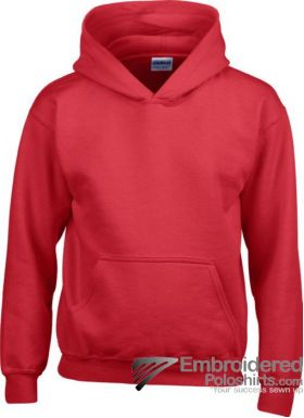 Gildan Gildan Childrens Hooded Sweatshirt-pantone 7620C Red