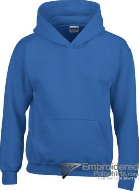 Gildan Gildan Childrens Hooded Sweatshirt-pantone 7686C Royal