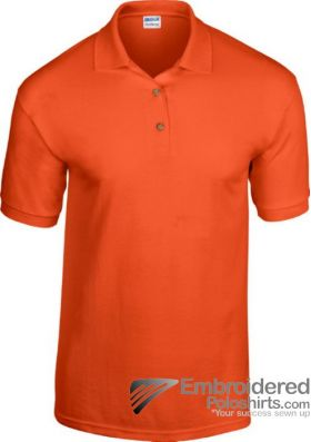 Gildan Adult DryBlend Jersey Polo-pantone 1665C Orange