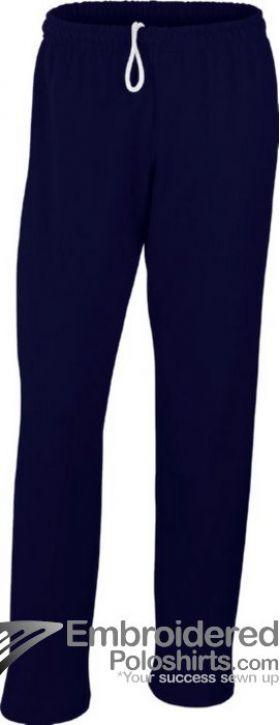 Gildan Men's Heavy Blend Open Bottom Sweatpant-pantone 533C Navy