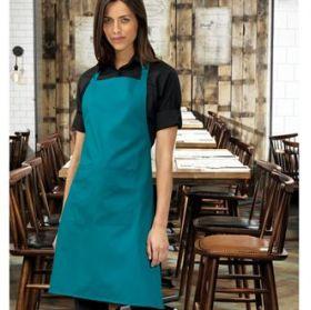 PR154 Premier Colours bip apron with pocket