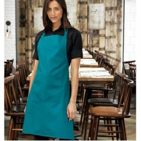 PR154 Premier Colours bip apron with pocket